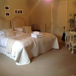 Super kingsize beds with ensuite shower rooms