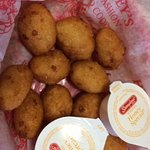 Light and fluffy yummy hushpuppies