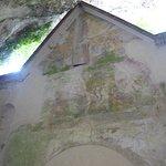 Es gibt noch alte Fresken zu sehen