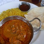 Chicken tikka curry