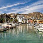 The best Restaurant in The Marina, great food and great view, all my family had a great meal, th