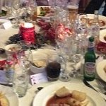 Xmas Lunch 2015 - Over crowded tables