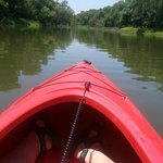 Kayaking at Loyd Park.