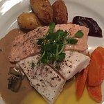Salmon Halibut Dinner