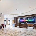 Newly Renovated Crowne Plaza Memphis Downtown Lobby, Reception