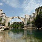 Puente de Mostar, en Herzegovina