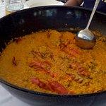 """arroz meloso con bogavante en """"La Palapa"""""""