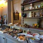 Part of breakfast bar