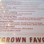 Margaritas for the choosing (but choose the Mango Habanero -- FROZEN!)