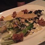 Grilled oyster Caesar Salad