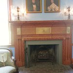 Interior Pic of one of the Fireplaces.