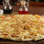 Nuestra exquisita PIZZA DE CAMARON