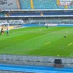 Hellas Verona Crotone riscaldamento portieri.