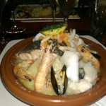 Choucroute de la mer copieuse et excellente !