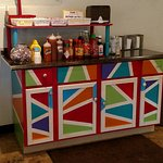 Porky's Condiment Bar
