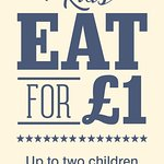 Kids Eat From £1 on Tuesday