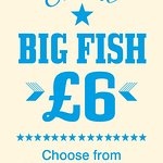 Big Fish Friday... free bread and Curry Sauce