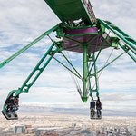 Ride on top of the Stratosphere Tower