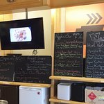 Hot Lunch Menu at Coffee Warehouse-Vicky Damour's Bakery, Timmins ON
