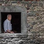 La finestra del mulino che guarda il Ciuffenna scorrere...