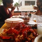 Lobster Feast Finished!! Awesome EL JAYIT RESTAURANT..good food, great service, super drinks!