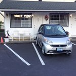 It's nice that this motel is forward thinking. Electric car tourism is going to be huge in the n