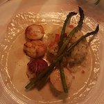 scallops w risotto