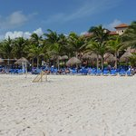 Playa espaciosa