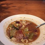 Minestrone soup is the best I've ever had.  Breadsticks are great hot!  The buy one take one hom