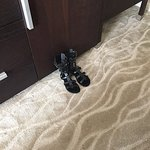 Random person's shoes left in my room by maid service.