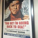 WWII Victory Fleet poster