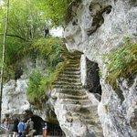 Escalier de pierre que l'on n'emprunte âs