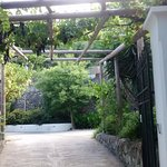 entrance to the vila