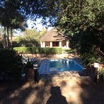 Our beautiful bungalow at Elephant House.  Great food, staff, and convenient to the Addo park.
