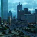 View of Dallas. Room interior.
