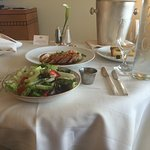 Room service. Delicious.