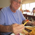 Tom's Ruben and fries were sooo good
