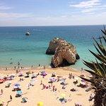 Praia de Rocha view from upstairs)