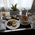 Room service breakfast