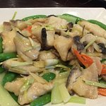 Fish 2 ways (#1 Stir fried with vegetables)