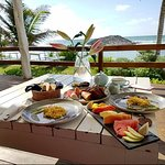 Included Breakfast for Two on the Restaurant Outdoor Deck