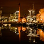 purpose of the trip was photography at night in a stunning location and this is Albert dock loca