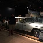 Elvis Presley's Gold (on the inside) Car at the Country Music Hall of Fame and Museum