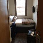 """View from door - """"double"""" room is tiny"""