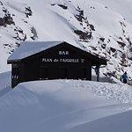 Restaurante na parada intermediária, mas esteve fechado no inverno dos Alpes !