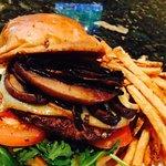 Portabella and Smoked Gouda Burger