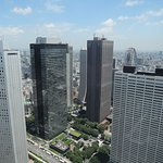View of Shinjuku from top of Government Building (next to hotel)