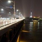 長江大橋東端から西方向