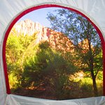 Ahhh, great view from my tent's window :)