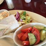 Greek Salad, Spinach Pie, Gyro